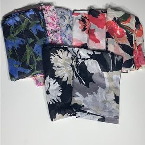 Accessories - Reseller Mystery 8 piece floral Scarf Bundle